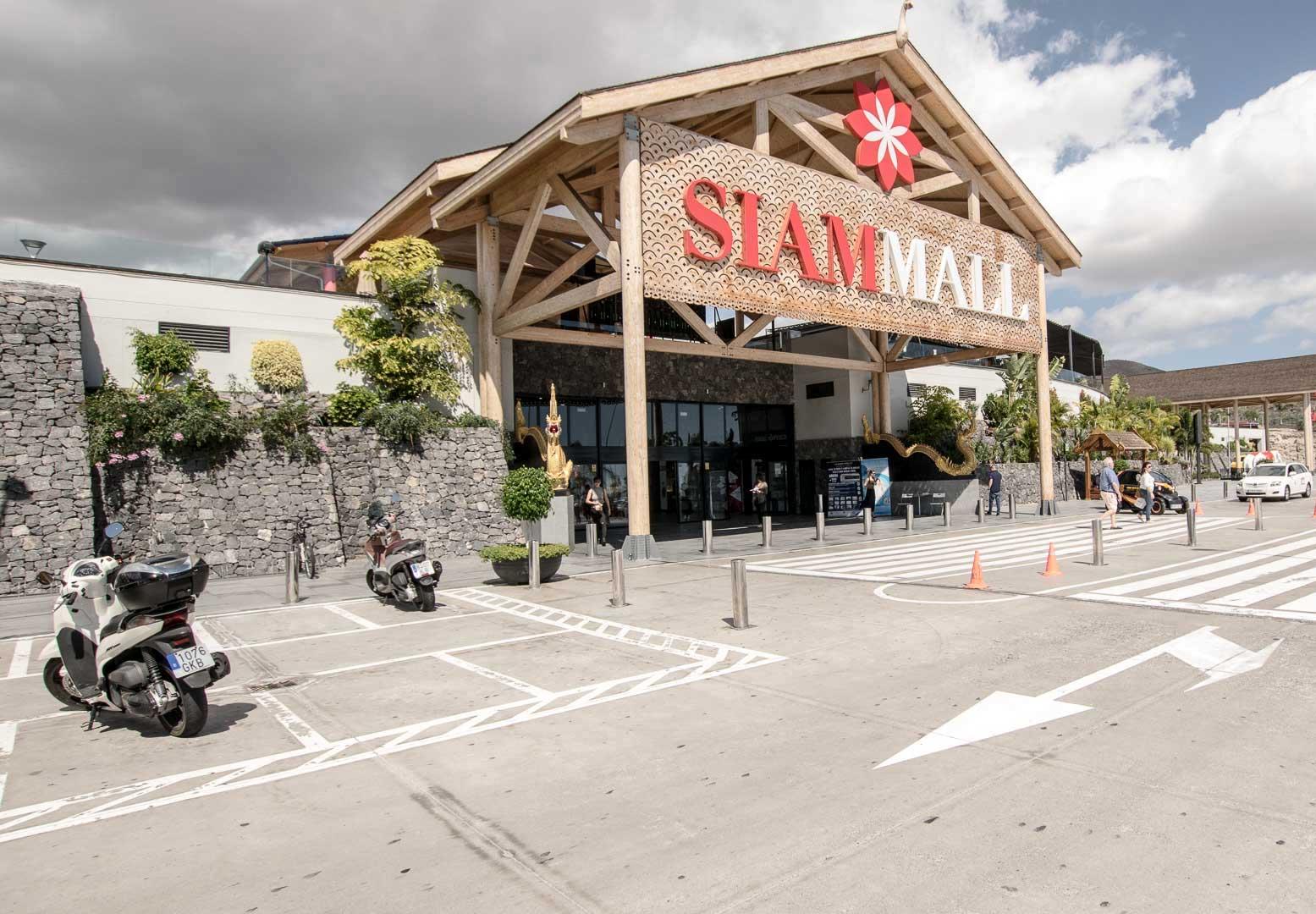 Siam Mall Eingang