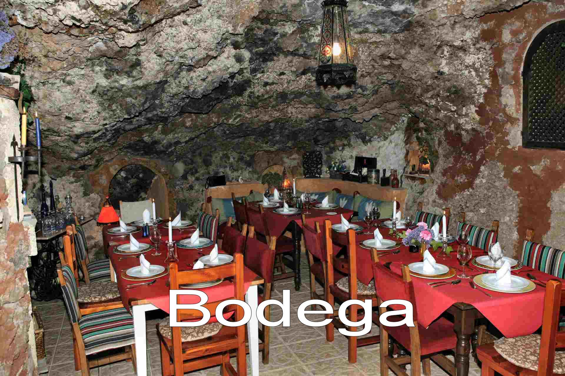 Guanchen Höhle als privates Restaurant